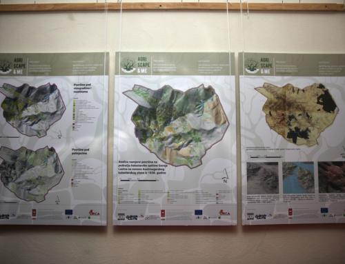 """Izložba """"Identifikacija, analiza i preporuke za obnovu tradicionalnog poljoprivrednog pejzaža u Gornjoj Lastvi"""""""